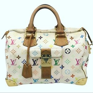 Louis Vuitton Murakami Speedy Doctor Boston Bag 30